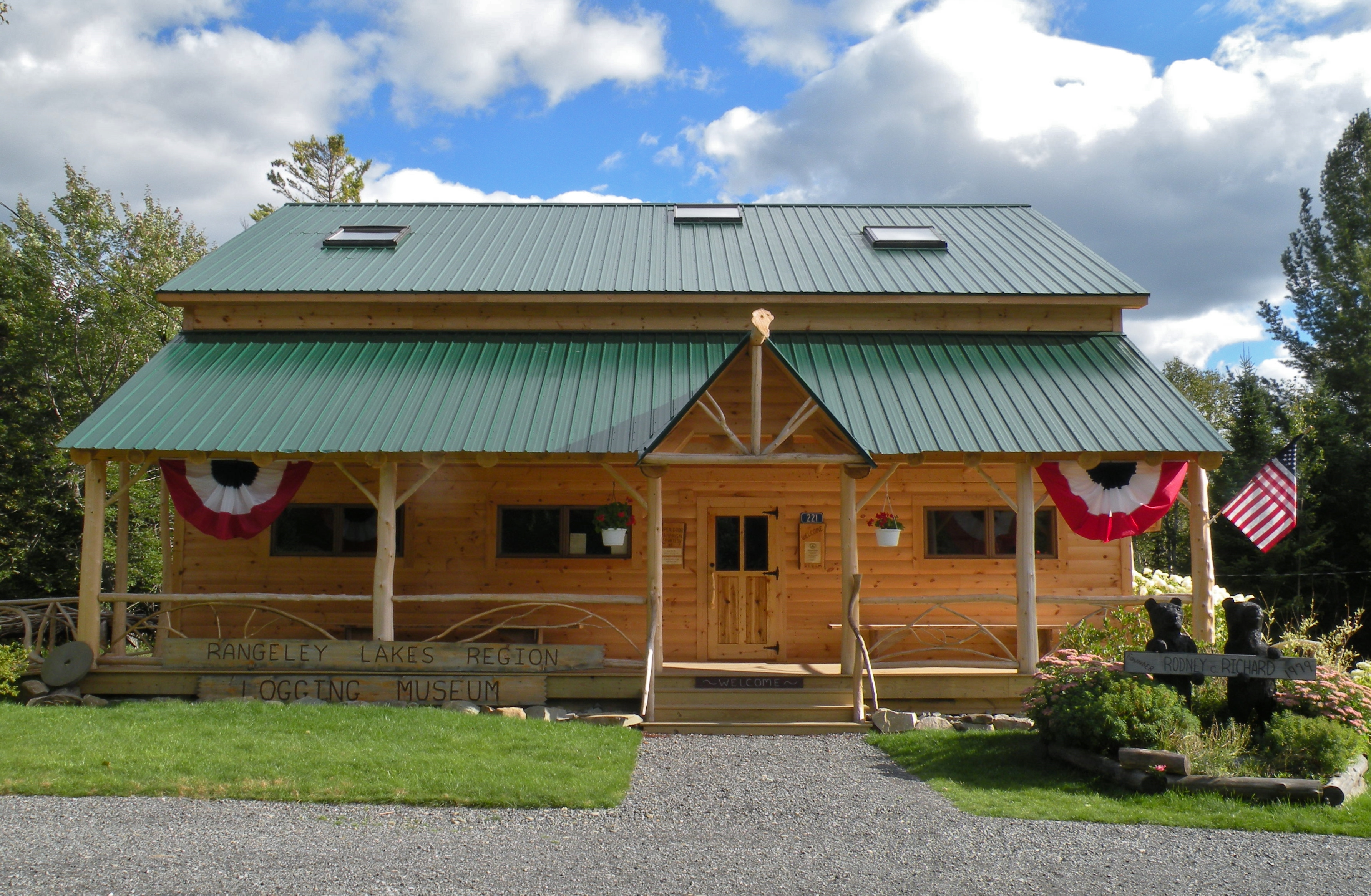 Maine Forestry Museum Located In Rangeley Maine - Great museums in us